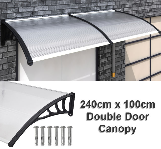 Door Canopy 240cm x 100cm & Door u0026 Window Canopies : Shop Online Ireland ~ Excellent Products ...