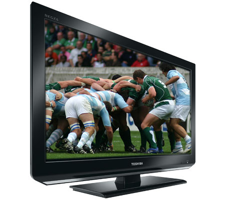 "26"" High Definition LED TV with built-in DVD Player"