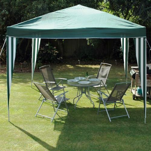 3M X 3M Deluxe Gazebo - No side Walls