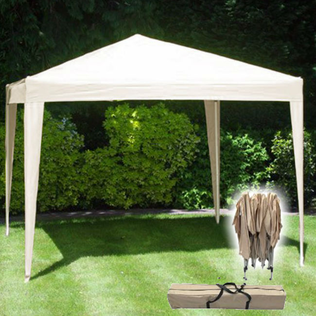 3M X 3M Pop Up Gazebo - No Side Walls