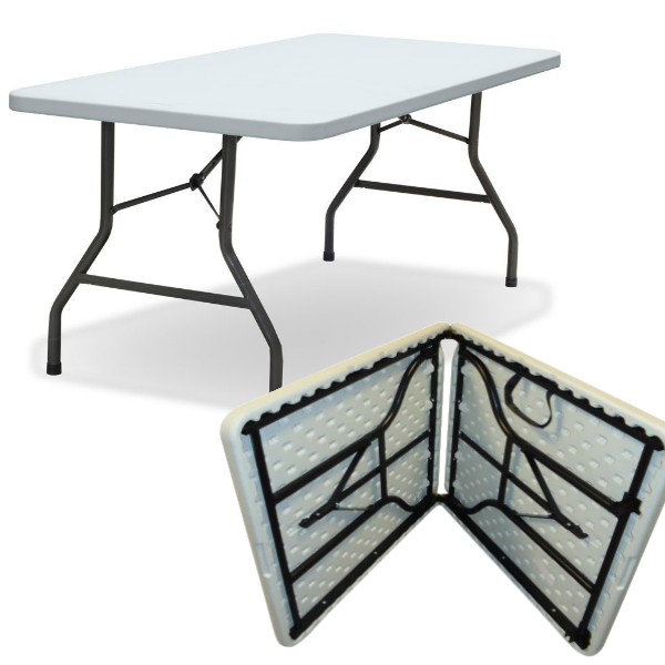 5ft Folding Tables - 5ft Plastic Tables