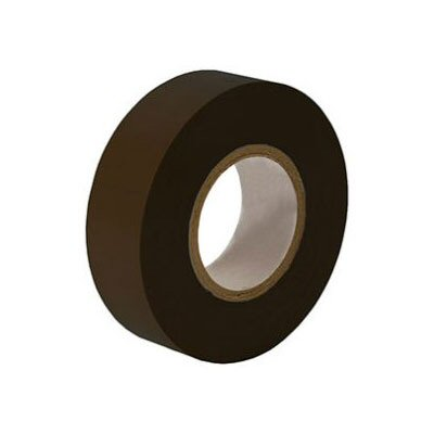 Black Insulating Tape. 20M x 19mm Roll. (Pack of 5)