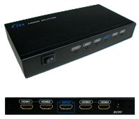 1 In 4 Out HDMI Amplifier: