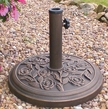 9kg Stone Resin Parasol Base.