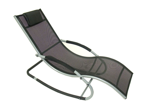 Aluminium Rocking Lounger