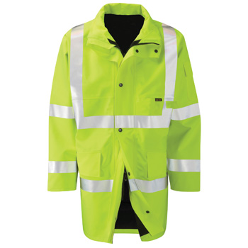 Amazon 2 Layer Gore-Tex High Vis Yellow Jacket