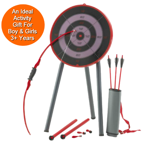 Toy Archery Set with Bow & Arrows