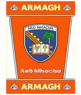 Official G.A.A County Branded Rugs - Armagh