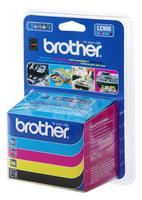 Brother LC-900 Inkjet Cartridge Value Pack CYMK LC900VALBP