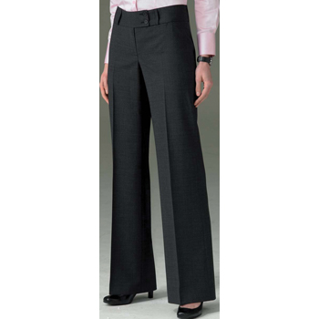Ladies Brompton Trouser - (Navy)