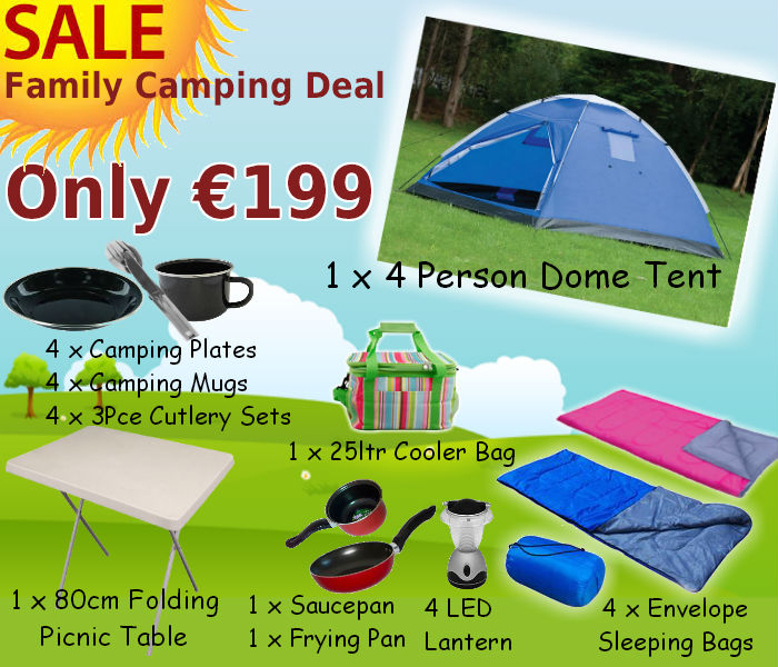 Family Camping Package