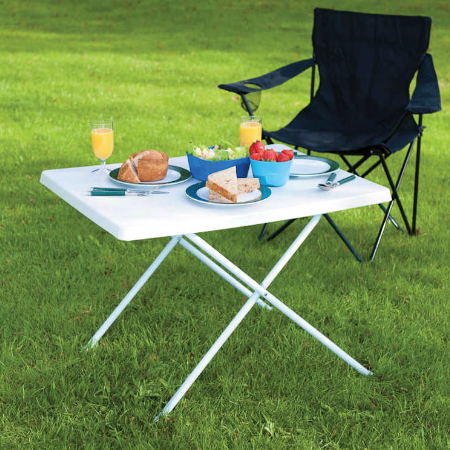 Adjustable Camping Table