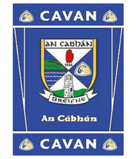 Official G.A.A County Branded Rugs - Cavan