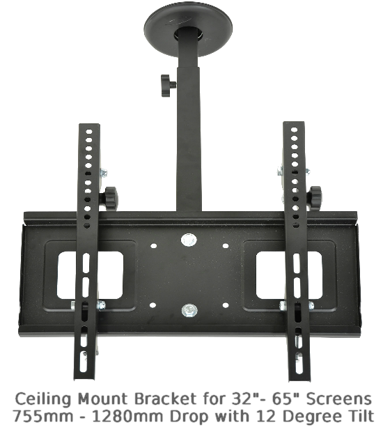 "Ceiling Brackets - Ceiling TV Mounts - 32""-65"""