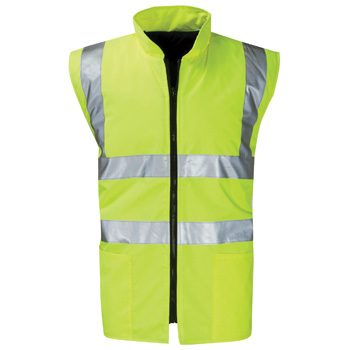 Corinthian Reversible High Vis Bodywarmer