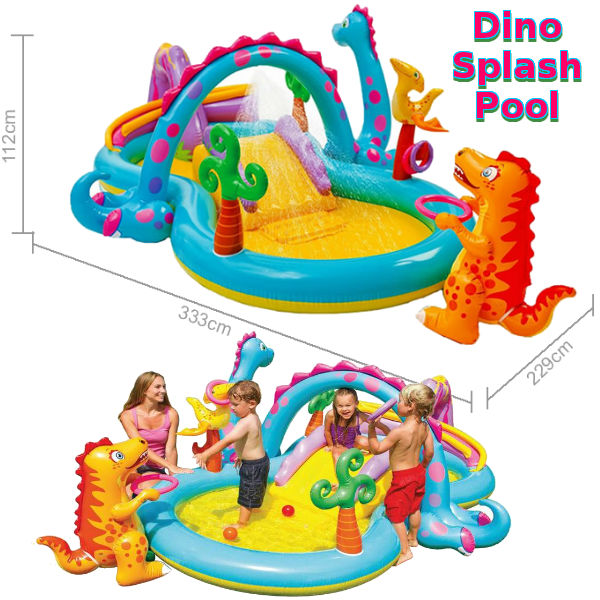 The Dino Play Centre Paddling & Splash Pool