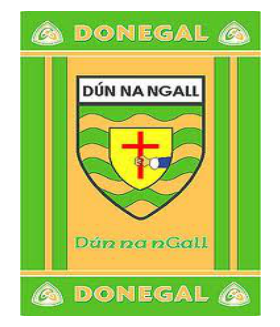 Official G.A.A County Branded Rugs - Donegal
