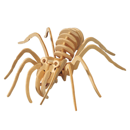 3D Wooden Jigsaw Puzzle (Spider)