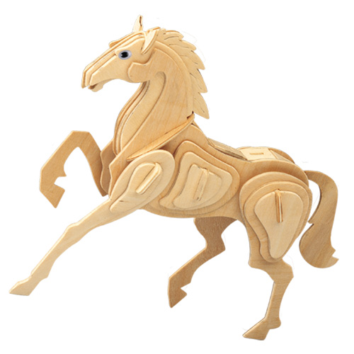 3D Wooden Jigsaw Puzzle (Horse)