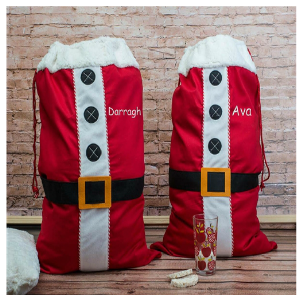 Personalised Large Santa Sack - Twill Cotton for Quality