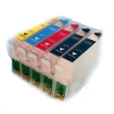 Epson T0711 X 2, T0712, T0713, T0714 (5 Pack)
