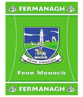 Official G.A.A County Branded Rugs - Fermanagh