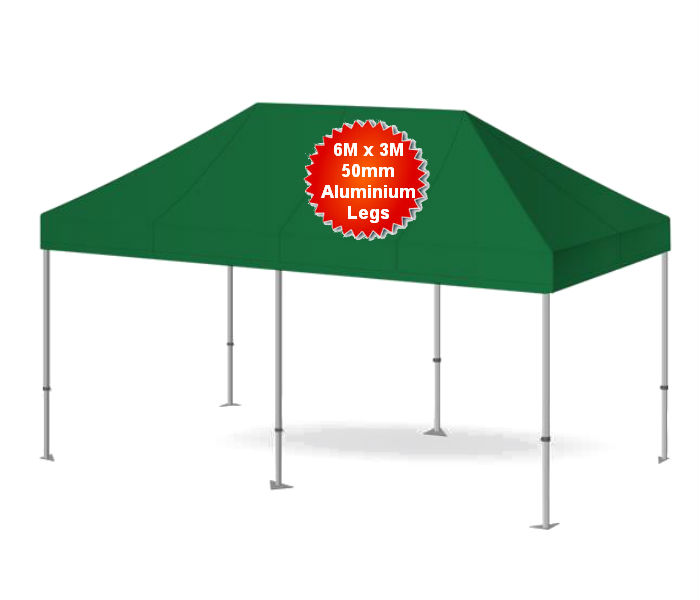 6M X 3M Heavy Duty Commercial Pop Up Gazebo
