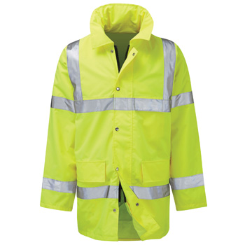 Geraint High Vis Waterproof Jacket
