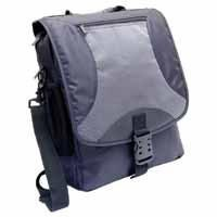 Monolith Multifunctional Nylon Laptop Backpack Black and Grey