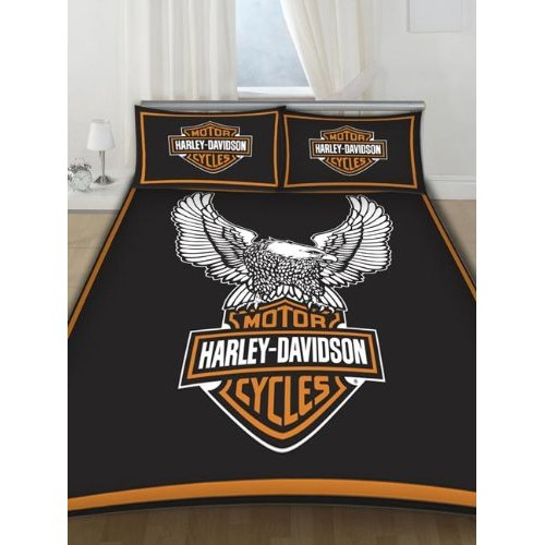 Harley - Davidson Double Duvet Cover (Suit Double Bed)
