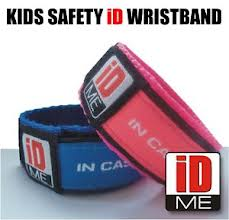 ID ME - Kids Safety ID Wristband