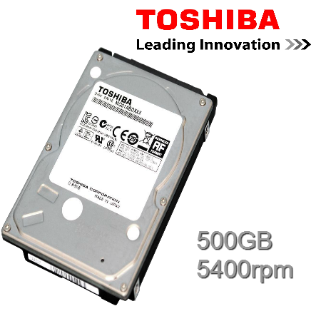 "Toshiba MQ01ABD050 500GB 5400rpm SATA 2.5"" Int HDD"