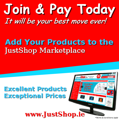 Sell Your Products on the JustShop.ie Marketplace
