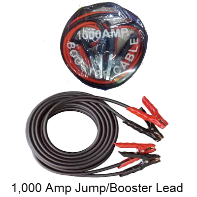 1,000 Amp Car Jump Leads - Booster Cable