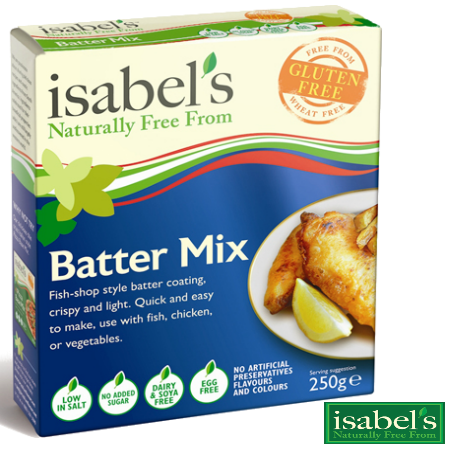 Gluten Free Batter Mix - 2 X 250g Packs