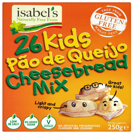 Kids Mini Cheesebread Bites Mix 2 X 250g Packs