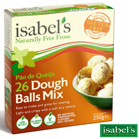 Gluten Free Dough Balls Mix - 2 X 250g Packs