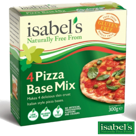 Gluten Free Pizza Base Mix - 2 X 300g Packs