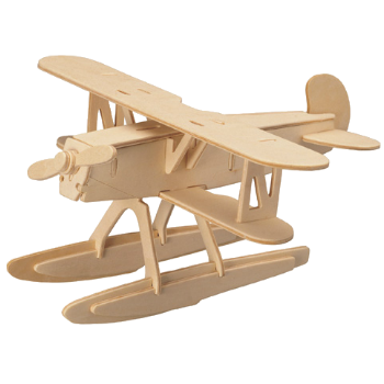3D Wooden Jigsaw Puzzle (Boat Plane)