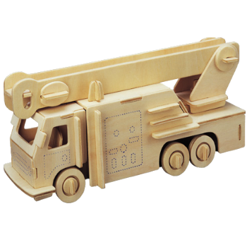 3D Wooden Jigsaw Puzzle (Fire Engine)