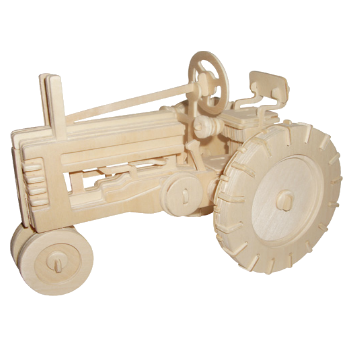 3D Wooden Jigsaw Puzzle (Tractor)