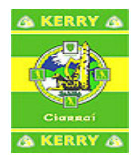 Official G.A.A County Branded Rugs - Kerry