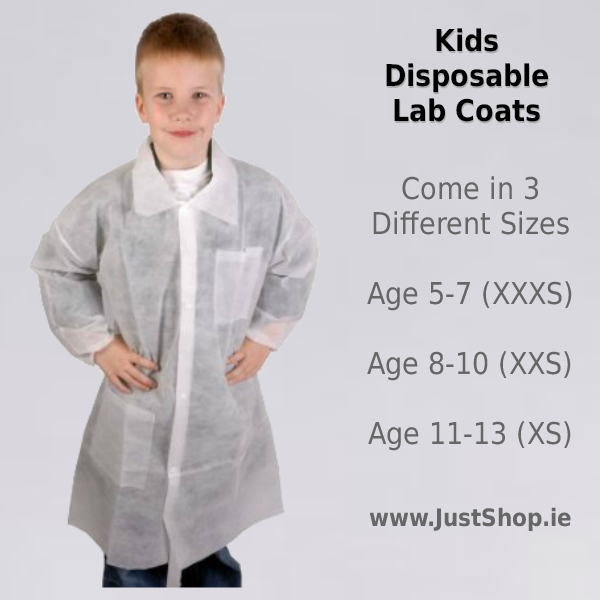 10 Disposable Coats for Kids