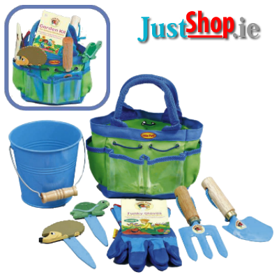 Kids Gardening Kit (Blue)