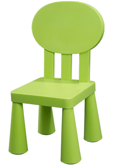 Kids Resin Chair(Red)