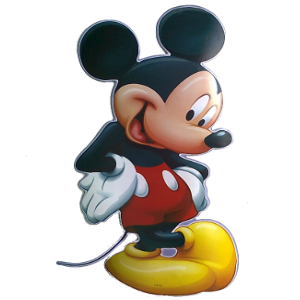 Classic Mickey Mouse Wall Sticker