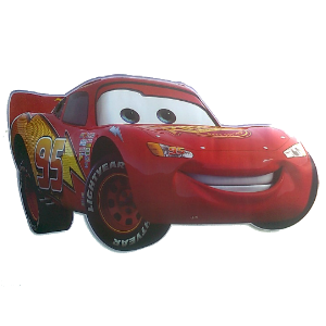 Large Lightning McQueen Wall Sticker