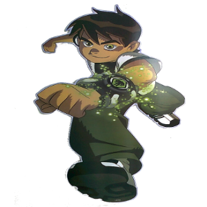 Large Ben 10 Wall Sticker