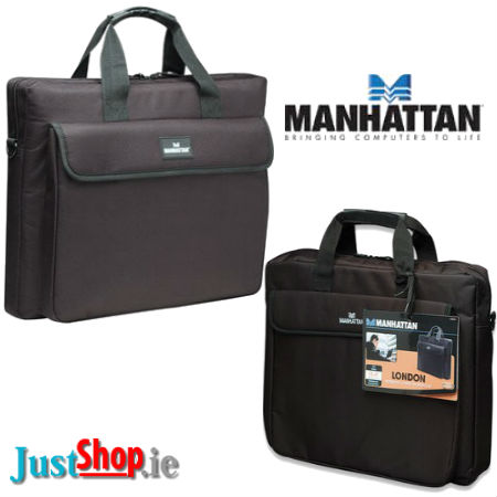 The MANHATTON London Laptop Netbook - iPad - Tablet Briefcase