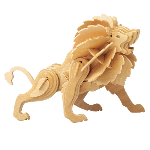 3D Wooden Jigsaw Puzzle (Lion)